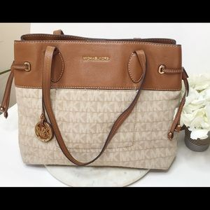 MICHAEL KORS Brown Purse Handbag